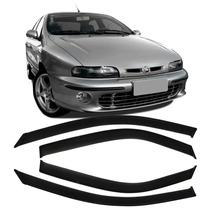Calha De Chuva Acrilica Fiat Brava 1999 2000 2001 - 4 Portas