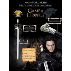 Espada Longclaw Jon Snow Aegon Targaryen Game Of Thrones