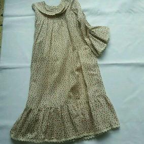 Vestido Viyela Liviana Estampada Talle 8