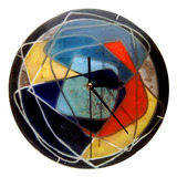 Reloj De Pared 25 Cm Vitrofusion Muchos Diseños