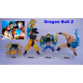Bonecos Dragon Ball Kit(4 Personagens)vegeta,goku,napa,gohan