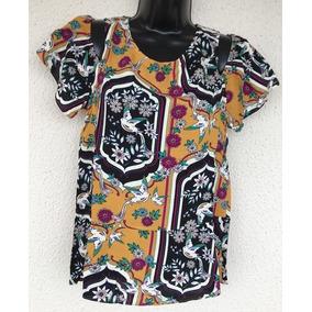 Blusa Kitson Bird Passaros Camiseta Manga Curta Antix