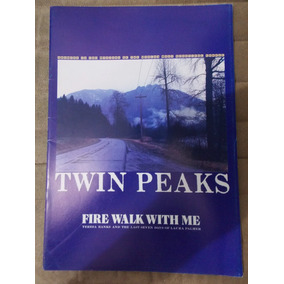 Revista Twin Peaks Fire And Walk With Me Programa Japonês