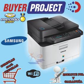 Impresora Multifunción Laser Color Samsung C480fw Wi-fi Lan