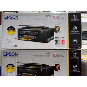 Oferta Impresoras Epson L455 Nuevas -wifi Garantia 24 Meses