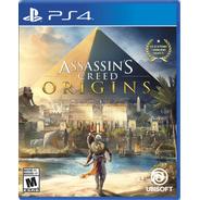 Assassins Creed Origins Juego Ps4 Fisico / Mipowerdestiny