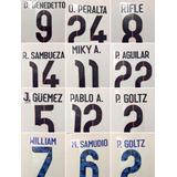 Números Club América 2015 - 2016 Originales