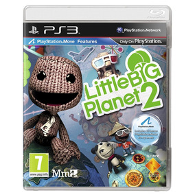 Little Big Planet 2 Ps3 Mídia Física Lacrado Região2