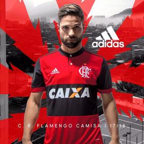 Nova Camisa Do Flamengo adidas Modelo 2017 + Frete Gratis