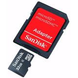 Cartão De Memória 32g Micro Sd Sandisk Motorola Lg Apple
