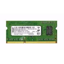Memoria Sodimm Kit 4gb (2x2gb) Ddr3 Pc3 10600s 1333mhz Smart