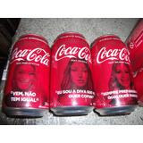 Latinha Coca Cola Astros Da Musica Coleçao Completa
