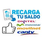 Recarga De Saldo Movistar-digitel-directv-inter Y Mucho Mas!
