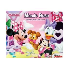 Minnie - Mundo Rosa - Girassol