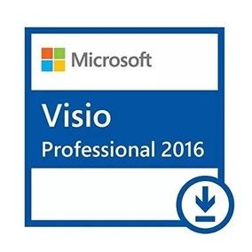 Ms Visio Pro 2016 32/64 Vitalicio Envio Digital