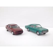 2x Miniaturas Gm Chevrolet Opala + Vectra Gl Ho 1/87 Wiking