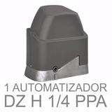 Kit Motor Ppa Portão Dz Custom Home Jetflex 1/4hp 4 Segundos