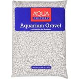 Aqua Cultura Blanco Fichas Acuario Grava 5 Lb