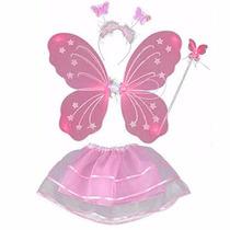 Juguete Princesa De La Mariposa De 4 Piezas Alas De Hadas D