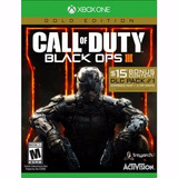 Call Of Duty Black Ops 3 Gold Edition Xbox One Nuevo