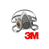 Respirador/ Mascara Media Cara Mod 6200 3m
