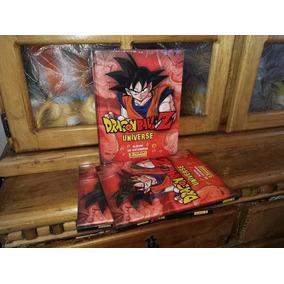 Album Dragon Ball Z Universe Pasta Dura + Caja De Estampas
