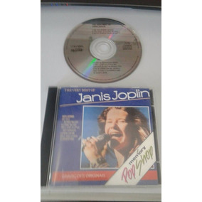 Cd Janis Joplin - The Very Best Of 1ºedição