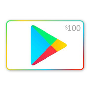 Tarjeta Gift Card Google Play 100 Store Usa