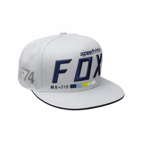 Gorras Fox Draftr Snapback Gris Division 2 Ruedas Salta