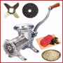 Maquina Picar Moledora Picadora Carne Fundicion Metal Nº12