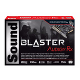 Creative Sound Blaster Audigy Pcie Rx 7.1 Sound Card With Hi