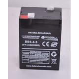 Baterias, 6 Voltios Lamparas De Emergencias, Juquetes, Ups,