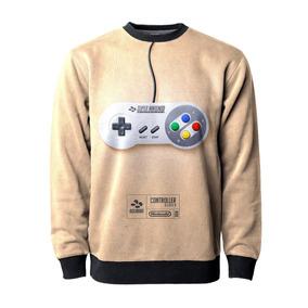 f38f86e814e Casaco Blusa Moletom Gamer Geek Nerd Super Nintendo Retro Mt