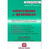 Guía De Estudio Concursos Y Quiebras