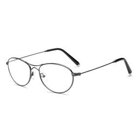 Armação Oculos Grau Aviador Aço Unissex Promoção+brinde ac87b1d741