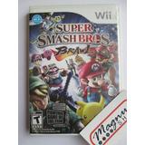 Super Smash Bros Brawl Para Nintendo Wii Perfecto Edo Mint