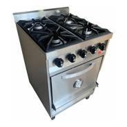 Cocina Industrial Rovesco 4h 58cm. C/ Valvula Acero Inox.