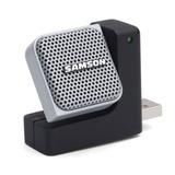 Microfone Portátil Samson Go Mic Direct Usb - Para Notebook