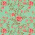 nº 141 Floral Verde Escuro
