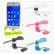 Ventilador Celular 2em1 Iphone E Android Mini Portátil Forte