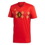 Camiseta adidas Of. Belgica Mundial 18´ Hombre