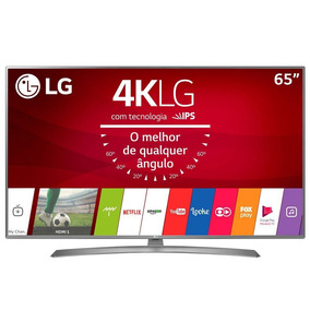Smart Tv Lg 65 Polegadas Led Ultra Hdmi Usb 4k 65uj6585