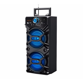 Caixa De Som Portátil Bluetooth Usb Sd Recarregável Potente