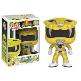 Pop Tv - Power Rangers - Yellow Ranger