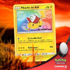 Carta: Pikachu Do Filme Pokémon 20: Eu Escolho Você!