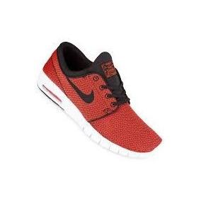 Zapatillas Nike Sb Stefan Janoski Air Max Black Orange