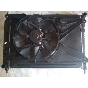 Kit Conjunto Original Radiador Condensador Ventoinha Captiva