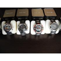 Reloj 100% Nuevos Quamer Original Doble Hora Oferta $ 19.990