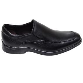 Sapato Masculino Social Dual Soft Democrata Preto