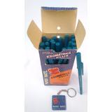Caneta Kilométrica Plus Antiga Paper Mate Cor Azul (unidade)